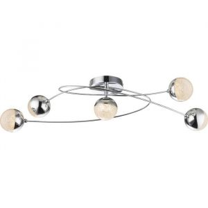 Globo Lighting Plafonnier Chrome 26x17x75cm