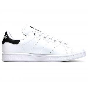 Adidas Enfant Stan Smith Blanche Et Noire Junior Baskets