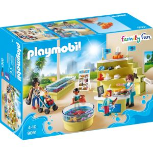 Playmobil 9061 Family Fun - Boutique de l'aquarium