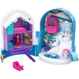 Mattel Polly Pocket - Le chalet enneigé