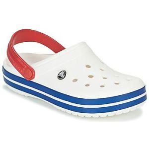 Crocs Crocband, Sabots Mixte Adulte, Blanc (White/Blue Jean), 41-42 EU