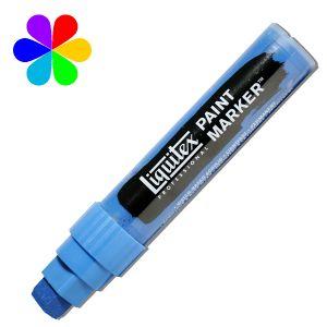 Liquitex Paint Marker - Pointe large - bleu de céruléum