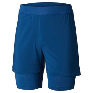 Columbia Titan Ultra II Short - Pantalon de running taille XL - Length: 5´´, bleu