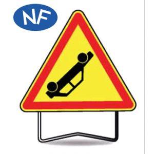 Taliaplast 522408 - Panneau signalisation danger accident ak31 t1 700mm