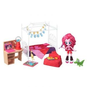 Hasbro My Little Pony Equestria Girls Chambre de Pinkie Pie