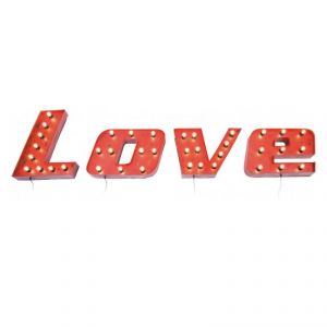 Kare Design Love Vintage - Applique décorative murale