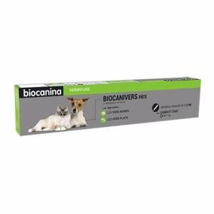 Biocanina Biocanivers - Vermifuge en pâte