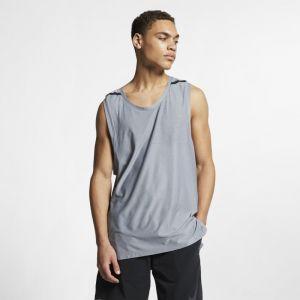 Nike Haut de training sans manches Dri-FIT Tech Pack pour Homme - Argent - Couleur Argent - Taille S