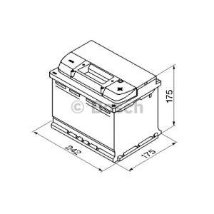 Bosch 0092S50040 - Batterie de démarrage
