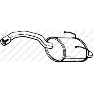 Bosal Silencieux arrière 148-193