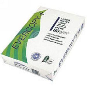 Clairefontaine Ramette de 500 feuilles Evercopy A4 coloris blanc 80g