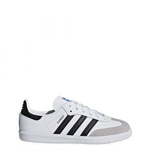 Adidas Samba Og Blanche Et Noire Enfant 35 Baskets