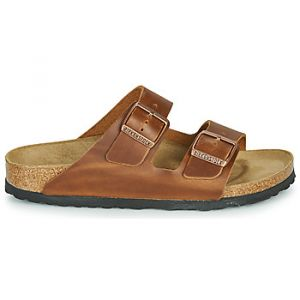 Birkenstock Mules ARIZONA LEATHER Marron - Taille 36,37,38,39,40,41,42,43,44,45,35