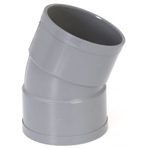 GIRPI Coude PVC 22°30 FF (40) - Ø mm : 40 -