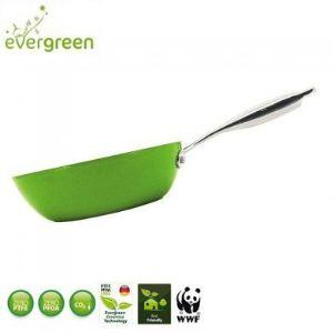Aubecq Wok Evergreen en céramique (30 cm)