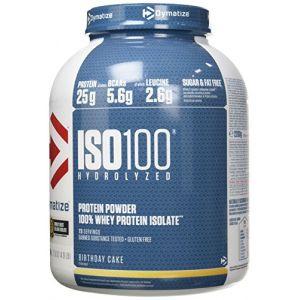 Dymatize nutrition Dymatize Iso100 Hydrolyzed 100% Whey Protein Isolate 2200g Birthday Cake