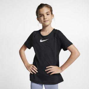 Nike Hautà manches courtes Pro pour Fille plus âgée - Noir - Taille XS