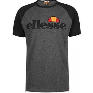 ELLESSE Piave 7393 T-Shirt - Dark Grey Marl Small Grey
