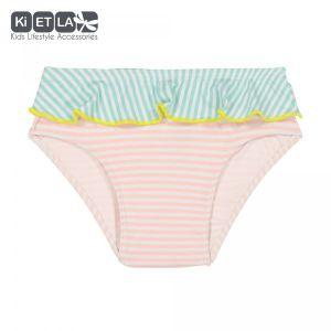 Ki ET LA Maillot de bain culotte anti-UV Annette stripe (12 mois)