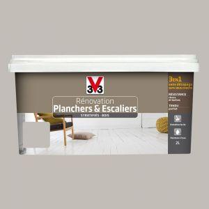V33 Peinture de rénovation pour faïence satin flanelle 0,75L