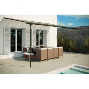 Concept-Usine Ferrato 15,15 m² : tonnelle murale, carport 4,96 x 3,05 m