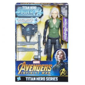 Hasbro Figurine Marvel Avengers Infinity War Titan Power Pack Black Widow