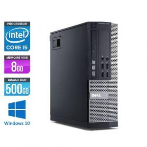 Dell Optiplex 7010 SFF - Intel Core i5-3470 / 3.20 GHz - RAM 8 Go - HDD 500 Go - DVDRW - GigaBit Ethernet - Windows 10 Professionnel