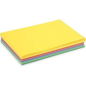 Creotime Carte Colortime Happy, A4 21x30 cm, Couleurs assorties, 30 flles assort.