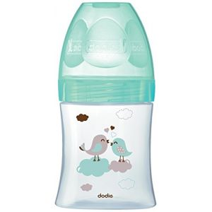 Dodie Biberon Initiation en verre col large 150 ml