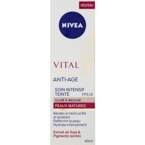 Nivea Vital Soja - Soin intensif teinté anti-âge peaux matures