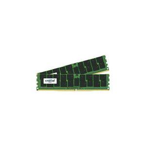 Crucial DDR4 256 Go (2 x 128 Go) 2666 MHz CL19 ECC QR X4