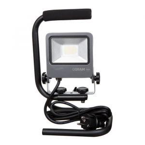 Osram 4058075043817 - Projecteur de Chantier LED Endura Flood - Etanche IP65 - 20W - 1440 lumen - Orientable - Blanc Froid 4000K - Gris Anthracite