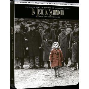 La Liste de Schindler [4K Ultra HD + Blu-Ray + Blu-Ray bonus + Digital - Édition boîtier SteelBook]