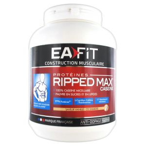 EA Fit Ripped max Caseine saveur vanille