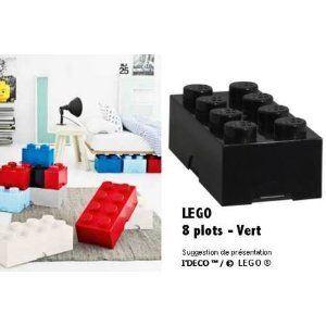 Lego Brique de rangement 8 plots