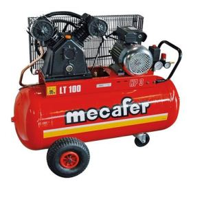 Mecafer 425316 - Compresseur en fonte 100L 3HP