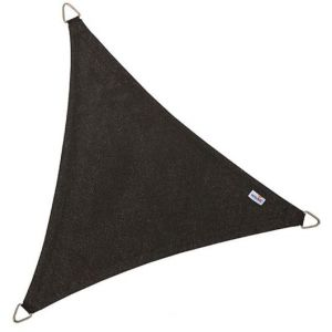 Image de Nesling Voile d'ombrage triangulaire Coolfit noir 5 x 5 x 5 m