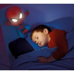 Doudou veilleuse Spiderman 30 cm