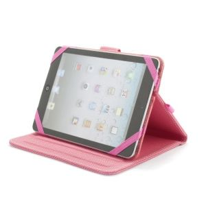 """NGS Pink Mob - Etui universel pour tablette 7 à 8"""""""