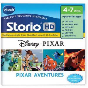 Vtech Jeu tablette Storio HD : Pixar Aventures