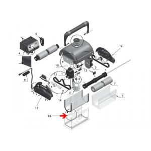 Procopi 1017705 - Clapet de porte filtre robot Magnum