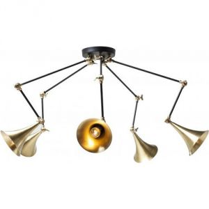 Kare Design Trumpet Spider 5 - Suspension cuivre