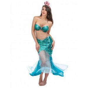 Smiffy's Déguisement sirène des mers sexy femme