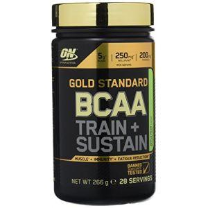 Optimum nutrition Gold Standard BCAA Train + Sustain - 266gr pomme-poire