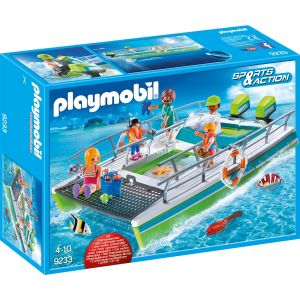 Image de Playmobil 9233 Sport & Action - Catamaran moteur
