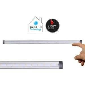 Lumihome Kit reglette sensor LED 5W 50cm 400lm blanc chaud,