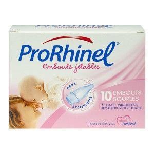 Novartis ProRhinel - 10 embouts jetables souples pour mouche bébé