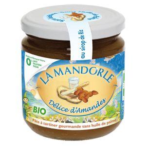 La Mandorle Pâte à tartiner amandes maltées bio (400g)