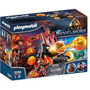 Playmobil Catapulte à lave des Burnham Raiders Novelmore 70394
