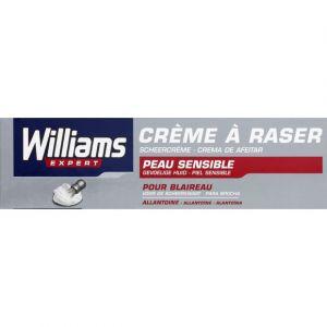 Williams Crème à raser pour blaireau, peausible, haute protection à l'Allantoine - Le tube de 100 ml